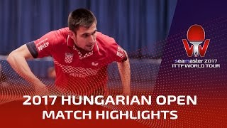【Video】KOJIC Frane VS CHEW Zhe Yu Clarence 2017 Seamaster 2017 Hungarian Open