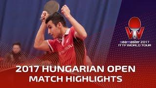【Video】AKKUZU Can VS SGOUROPOULOS Ioannis, 2017 Seamaster 2017 Hungarian Open best 32