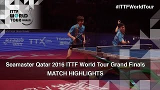 【Video】MASATAKA Morizono・YUYA Oshima VS JEOUNG Youngsik・LEE Sangsu, 2016 Seamaster 2016 Grand Finals finals