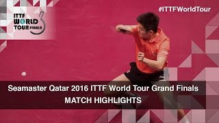 【Video】XU Xin VS FAN Zhendong, 2016 Seamaster 2016 Grand Finals semifinal
