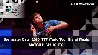 【Video】OVTCHAROV Dimitrij VS FAN Zhendong, 2016 Seamaster 2016 Grand Finals quarter finals