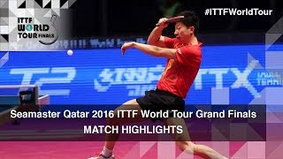 【Video】WONG Chun Ting VS MA Long, 2016 Seamaster 2016 Grand Finals quarter finals