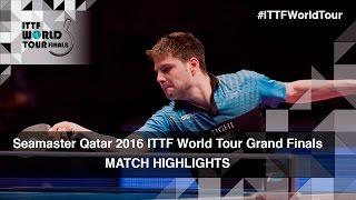 【Video】TANG Peng VS OVTCHAROV Dimitrij, 2016 Seamaster 2016 Grand Finals best 16