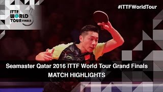 【Video】XU Xin VS CHEN Chien-An, 2016 Seamaster 2016 Grand Finals best 16