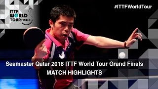 【Video】CHUANG Chih-Yuan VS YUYA Oshima, 2016 Seamaster 2016 Grand Finals best 16