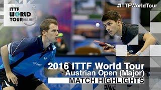 【Video】FANG Yinchi・ZHU Cheng VS FRANZISKA Patrick・GROTH Jonathan, 2016 Hybiome Austrian Open  finals