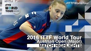 【Video】MIMA Ito VS POLCANOVA Sofia, 2016 Hybiome Austrian Open  quarter finals
