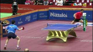 【Video】XU Xin VS WONG Chun Ting, 2016 Laox Japan Open  quarter finals