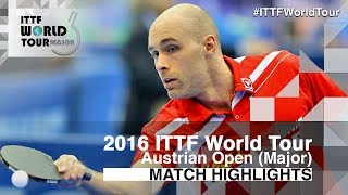 【Video】HABESOHN Daniel VS YUKI Matsuyama 2016 Hybiome Austrian Open