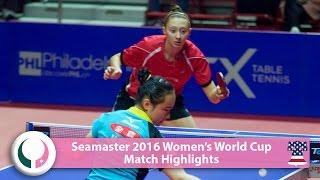 【Video】MIMA Ito VS POLCANOVA Sofia, 2016 Seamaster Women's World Cup best 16
