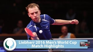 【Video】SHIBAEV Alexander VS FEGERL Stefan LIEBHERR 2016 Men's World Cup
