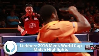 【Video】ARUNA Quadri VS GaoNing LIEBHERR 2016 Men's World Cup