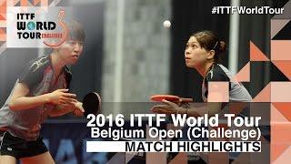 【Video】MARINA Matsuzawa・MARIKO Takahashi VS POTA Georgina・PROKHOROVA Yulia, 2016 Belgium Open  finals