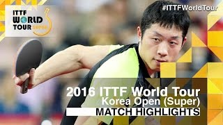 【Video】XU Xin VS MA Long, 2016 Korea Open  finals