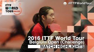 【Video】LUNG Lisa VS LE Thi Hong Loan 2016 Belgium Open