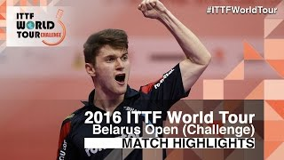 【Video】SZOCS Hunor VS KIM Minhyeok, 2016 Belarus Open  best 16