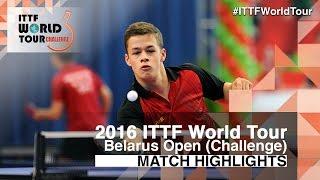 【Video】KIM Minho VS DARCIS Thibaut 2016 Belarus Open