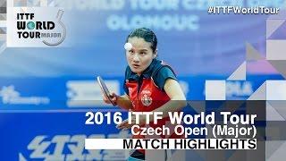 【Video】YANG Xiaoxin VS MAKI Shiomi, 2016 Czech Open  finals