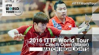 【Video】CHO Eonrae・PARK Jeongwoo VS KIM Minhyeok・PARK Ganghyeon, 2016 Czech Open  finals
