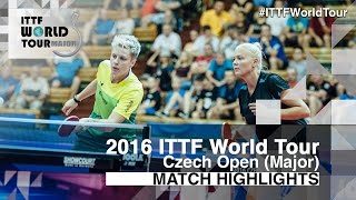 【Video】DOLGIKH Maria・MIKHAILOVA Polina VS EKHOLM Matilda・POTA Georgina, 2016 Czech Open  finals