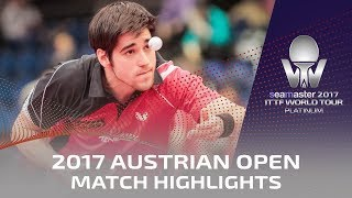 【Video】SONG Zhuoheng VS BROSSIER Benjamin 2017 Seamaster 2017 Platinum, Austrian Open