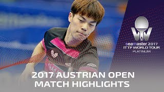 【Video】XUE Fei VS CHO Seungmin, 2017 Seamaster 2017 Platinum, Austrian Open finals