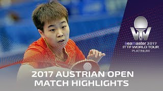 【Video】ZHANG Rui VS MIYU Maeda, 2017 Seamaster 2017 Platinum, Austrian Open finals