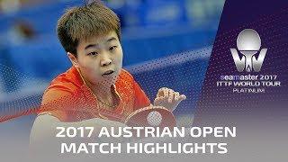 【Video】ZHANG Rui VS MIYU Maeda, 2017 Seamaster 2017 Platinum, Austrian Open finals
