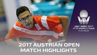 【Video】WONG Chun Ting VS ASSAR Omar, 2017 Seamaster 2017 Platinum, Austrian Open best 32