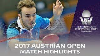 【Video】GAUZY Simon VS MASAKI Yoshida, 2017 Seamaster 2017 Platinum, Austrian Open best 16