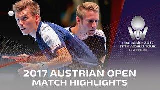 【Video】KOKI Niwa・JIN Ueda VS FILUS Ruwen・WALTHER Ricardo, 2017 Seamaster 2017 Platinum, Austrian Open finals