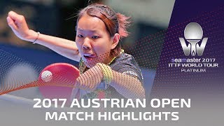 【Video】GU Yuting VS WANG Manyu, 2017 Seamaster 2017 Platinum, Austrian Open finals