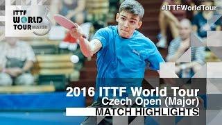 【Video】YUTO Muramatsu VS GERASSIMENKO Kirill, 2016 Czech Open  quarter finals