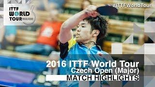 【Video】MIZUKI Oikawa VS YUTO Muramatsu, 2016 Czech Open  finals