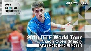 【Video】FRANZISKA Patrick VS KAZUHIRO Yoshimura, 2016 Czech Open  best 64