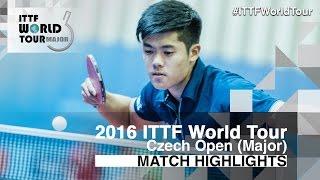 【Video】CHEN Alexander VS YUTO Kizukuri 2016 Czech Open