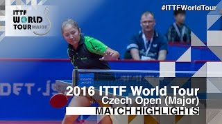 【Video】GUI Lin VS KIM Olga 2016 Czech Open