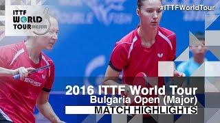 【Video】DOLGIKH Maria・MIKHAILOVA Polina VS MIYU Kato・MISAKI Morizono, 2016 - Asarel Bulgaria Open  finals