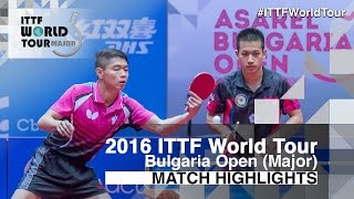 【Video】LIVENTSOV Alexey・PAIKOV Mikhail VS LIAO Cheng-Ting・SUN Chia-Hung, 2016 - Asarel Bulgaria Open  finals