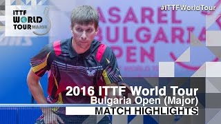 【Video】Adrien Mattenet VS PAIKOV Mikhail, 2016 - Asarel Bulgaria Open  quarter finals