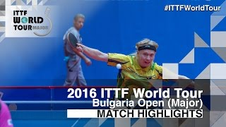 【Video】NIELSEN Claus VS MIZUKI Oikawa, 2016 - Asarel Bulgaria Open  quarter finals