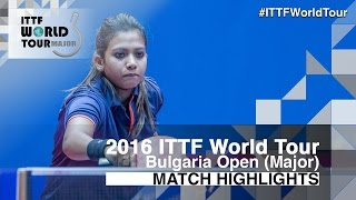 【Video】WANG Yi-Ju VS TENNISON Reeth 2016 - Asarel Bulgaria Open