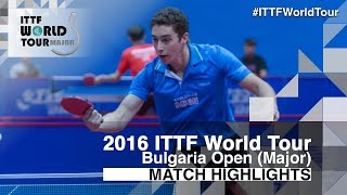 【Video】TSAI Chun-Yu VS SIMON Mathan 2016 - Asarel Bulgaria Open