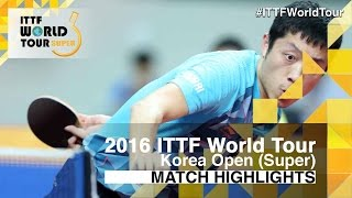 【Video】WONG Chun Ting VS XU Xin, 2016 Korea Open  quarter finals