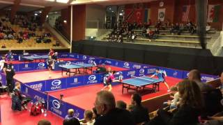 【Video】WANG Eugene VS FANG Bo, 2015 Swedish Open  best 32