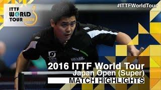 【Video】MATSUMOTO Cazuo VS TAKU Takakiwa, 2016 Laox Japan Open  best 64