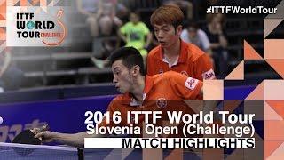 【Video】JEOUNG Youngsik・LEE Sangsu VS HO Kwan Kit・WONG Chun Ting, 2016 Slovenia Open  finals