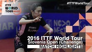【Video】KASUMI Ishikawa VS JEON Jihee, 2016 Slovenia Open  semifinal