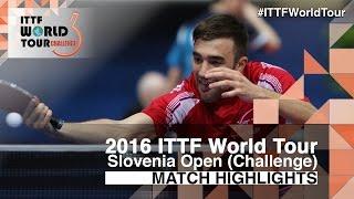 【Video】LEE Sangsu VS ROBINOT Quentin, 2016 Slovenia Open  best 32