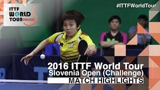 【Video】LIN Chia-Chih VS MIMA Ito, 2016 Slovenia Open  best 32